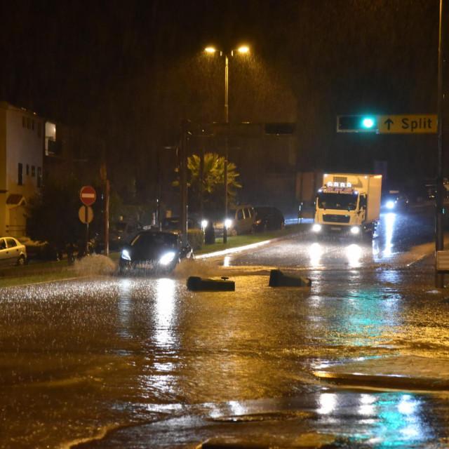 Poplavljena Vukovarska ulica - potop nije trajao dugo