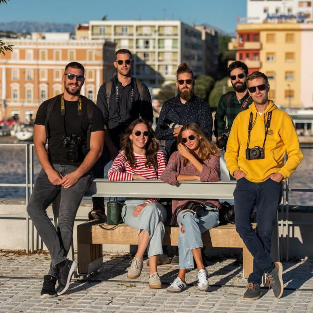 Na fotografiji: Toni Opačić, Filip Brala, Marko Lorenzo Blaslov, Marko Dimić, Ante Bronić, Nina Sušac i Lara Žilić
