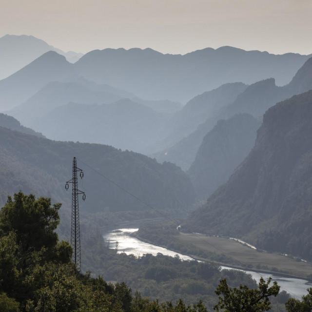 Omis, 210920.<br /> Kanjon rijeke Cetine.<br />
