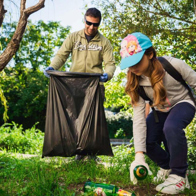 Brojni volonteri angažirali su se na 'Zelenoj čistki'