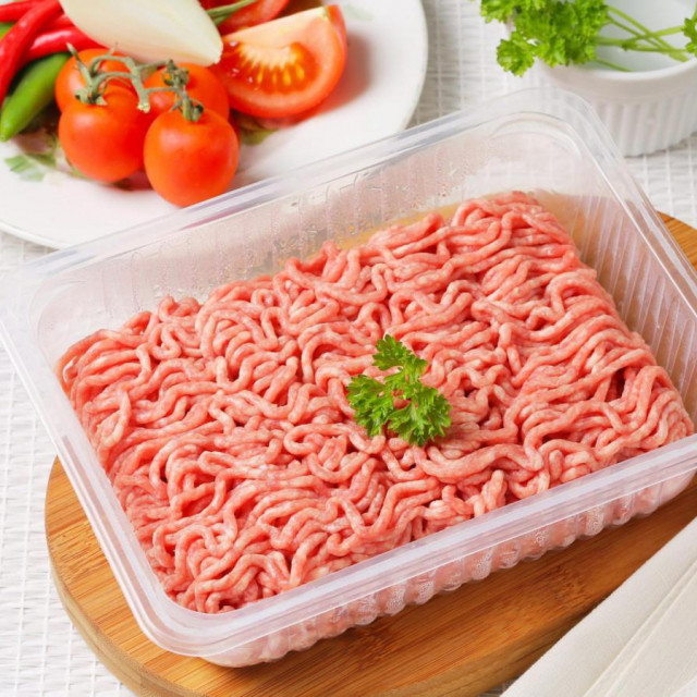 Mljeveno meso - ilustracija