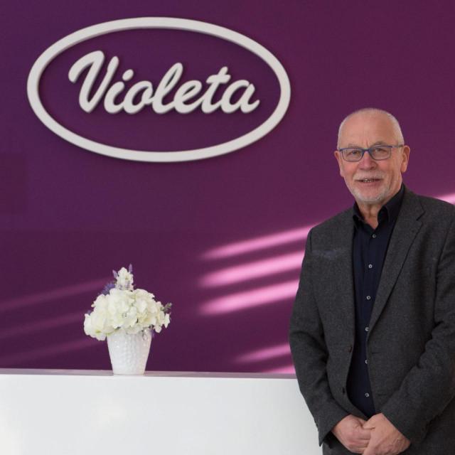 Petar Ćorluka, vlasnik tvornice 'Violeta'<br />