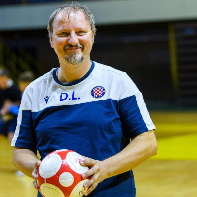 Trener kadeta i voditelj akademije Denis Lukin