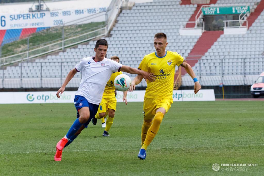 Ćubelić u dresu druge momčadi Hajduka