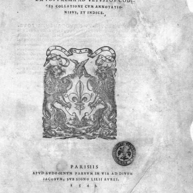 Uz Mjesec hrvatske knjige izložba 'Knjige dubrovačkih đaka kroz povijest od 16. do 19. stoljeća'