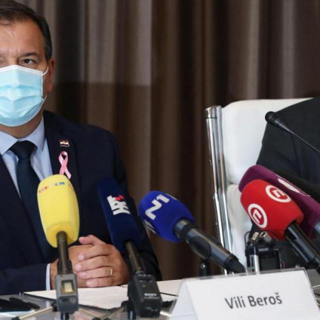 Vili Beroš i Krunoslav Capak