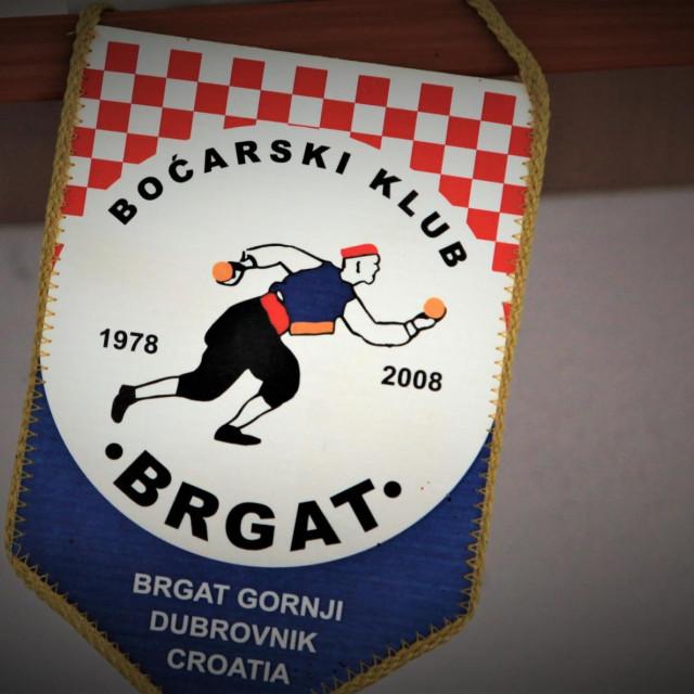 Zastavica Boćarskog kluba Brgat foto: Tonči Vlašić