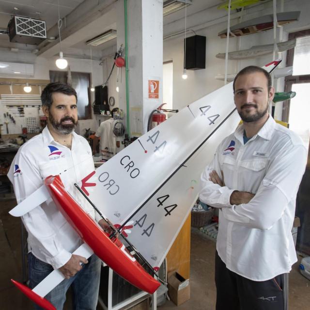 Idejni začetnici sustava Doc.me Josip Marasović i Zvonko Jelačićsu suvlasnici tvrtke Sailboat RC i članovi pobjedničkog tima