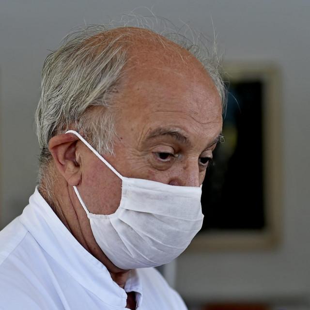 Šef splitske infektologije, prof. dr. sc. Ivo Ivić