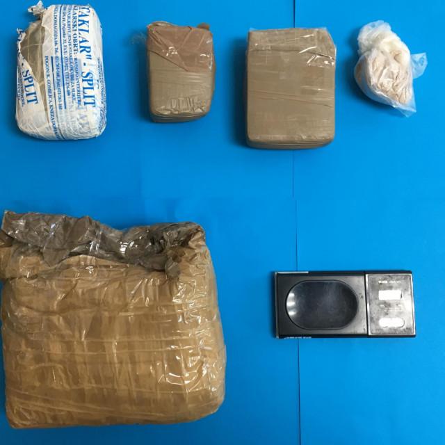 Zaplijenjeni heroin kojemu je vlasnik bio Vili T.