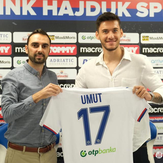 Mehmet Umut Nayir novi je igrač Hajduka