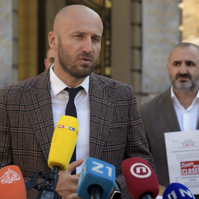 Marin Medak, predsjednik Nezavisne udruge ugostitelja<br />