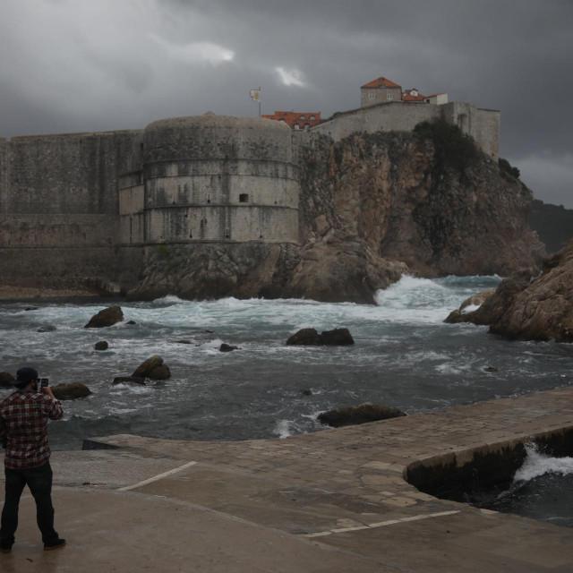 Teška južina spustila se na Dubrovnik