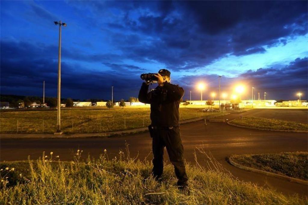 Granična policija, nadzor teritorija