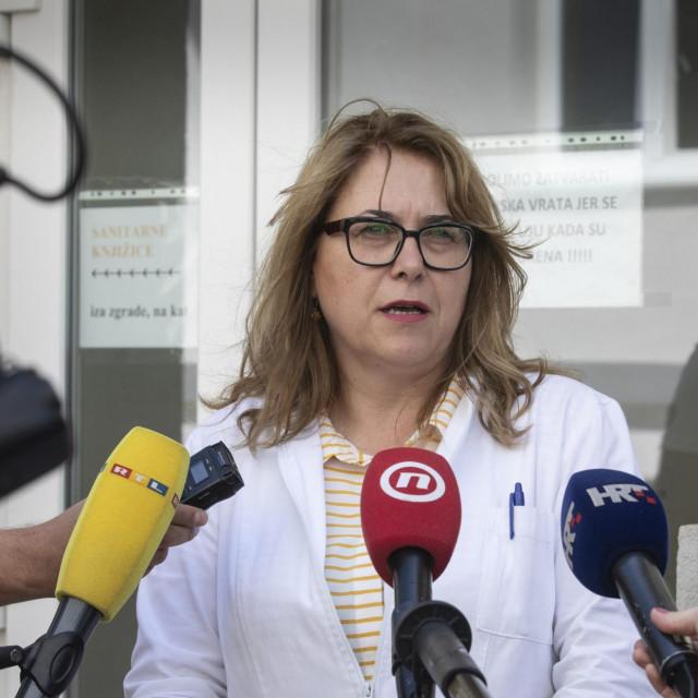 Na fotografiji: Dr. Željka Karin, ravnateljica Nastavnog zavoda za javno zdravstvo SDŽ-a<br />