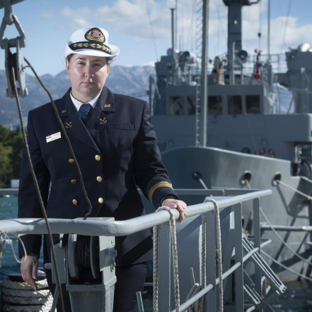 'Dvaput sam imala priliku sudjelovati u mirovnim operacijama', kaže kapetanica korvete