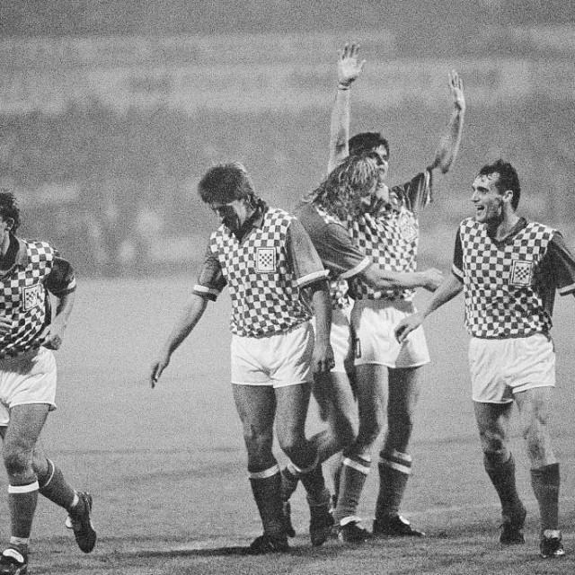 Hrvatska je prije točno 30 godina zaigrala prvu međunarodnu utakmicu