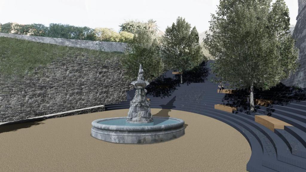 Budući izgled parka u Pilama