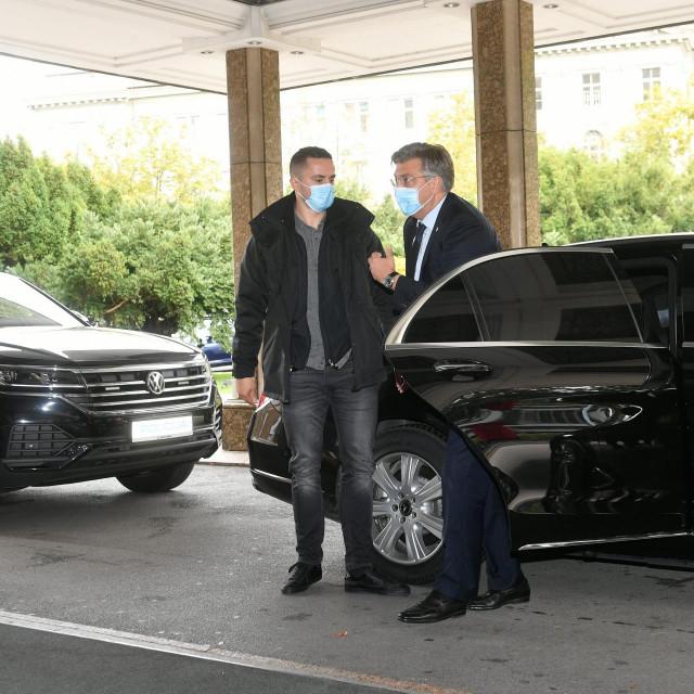 Andrej Plenković u Westin stigao u blindiranom automobilu