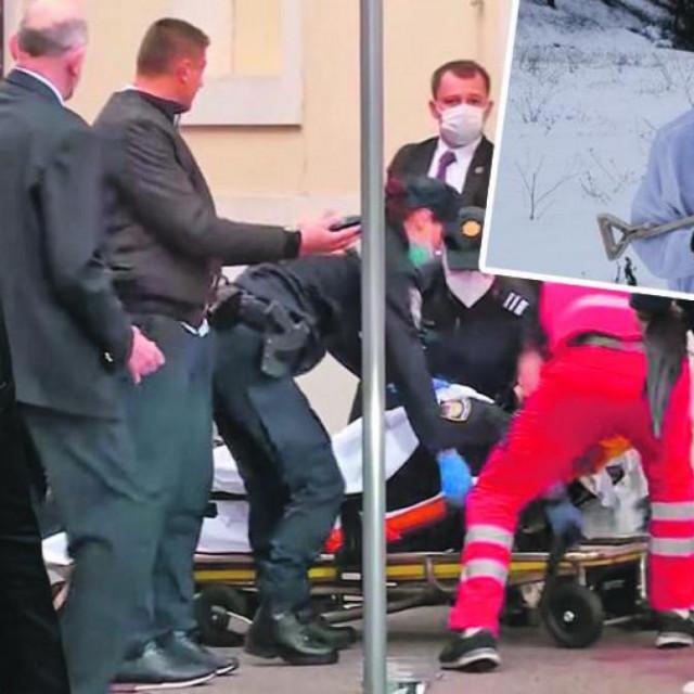 Danijel Bezuk, Andrej Plenković, Zoran Milanović, napad na Markovu trgu