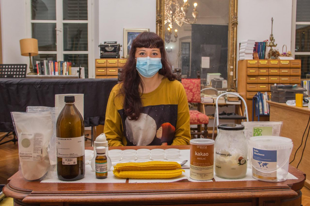 Veronika Duda, radionica prirodne kozmetike