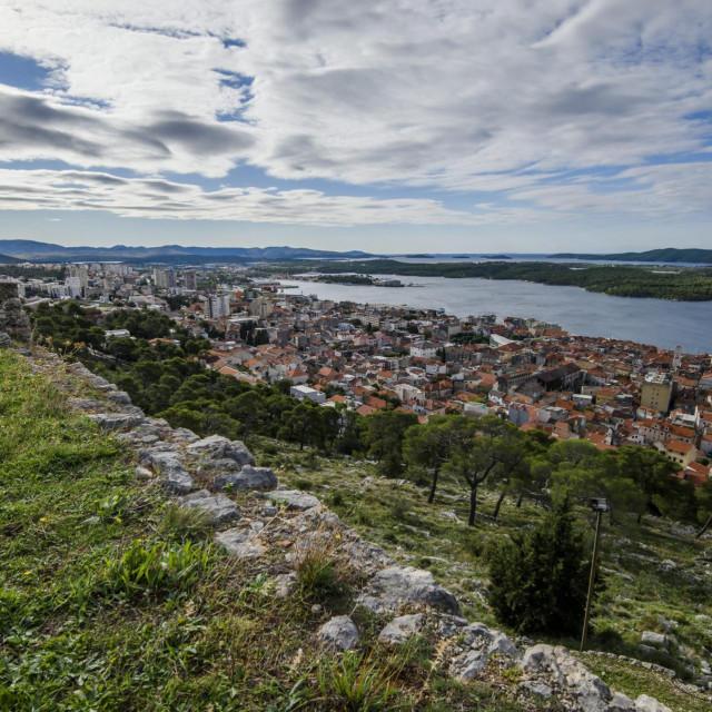 Sibenik, 131020.<br /> Pogled i panorama grada Sibenika.<br />