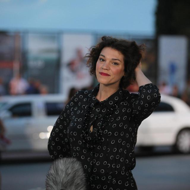 Marija Škaričić na otvorenju 67. pulskog filmskog festivala