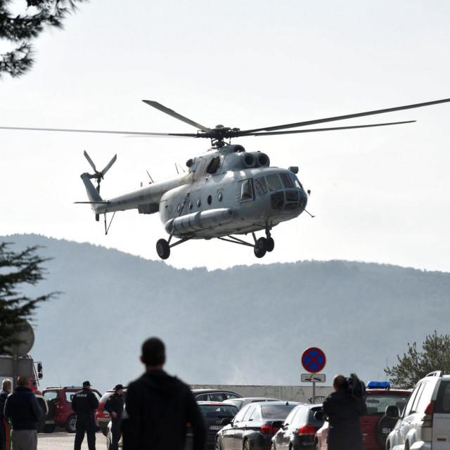 U helikopterskoj nesreći kod Zlarina poginula su dvojica pilota