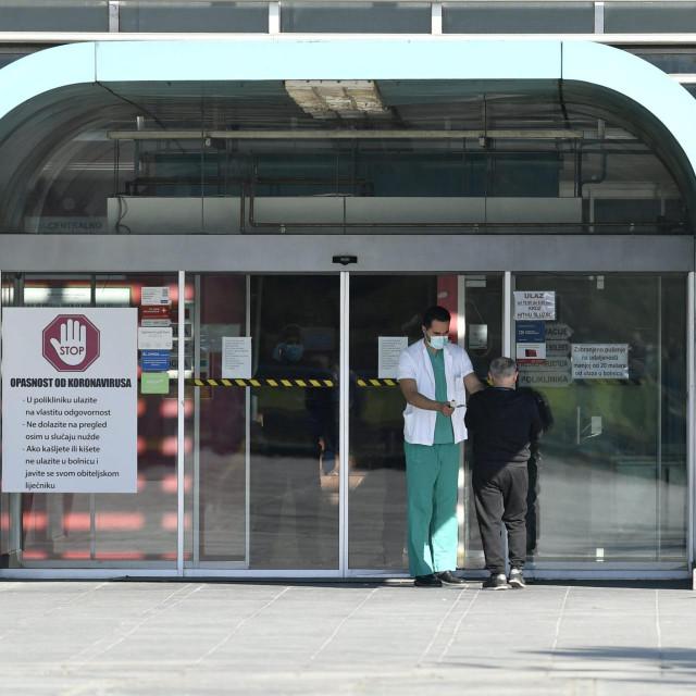 Pacijentica je preminula u zagrebačkom KB-u Dubrava