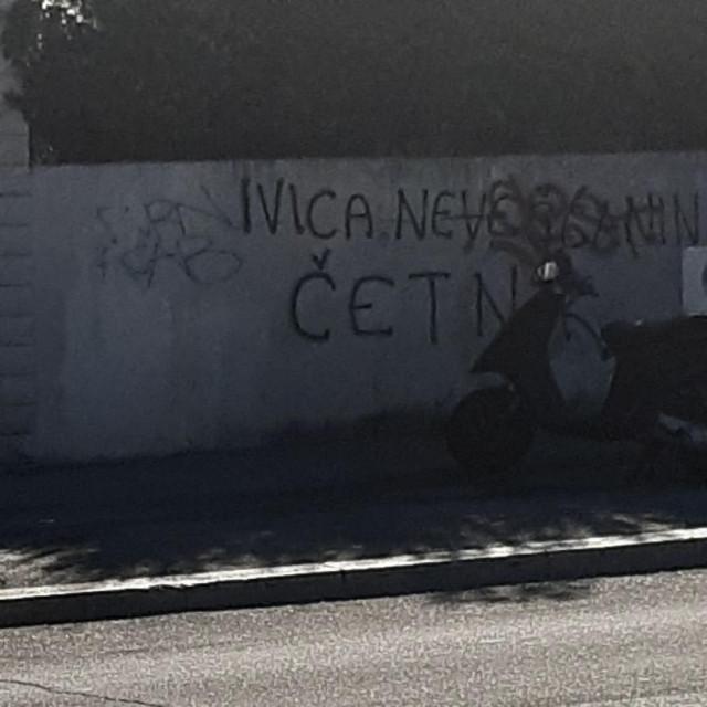 Grafit u Velebitskoj ulici u Splitu