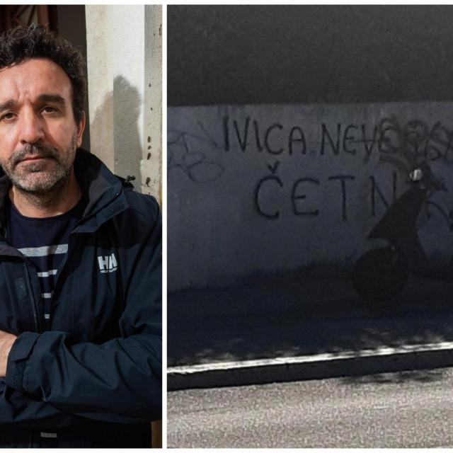 Ivica Nevešćanin dobio je grafit u rodnom gradu