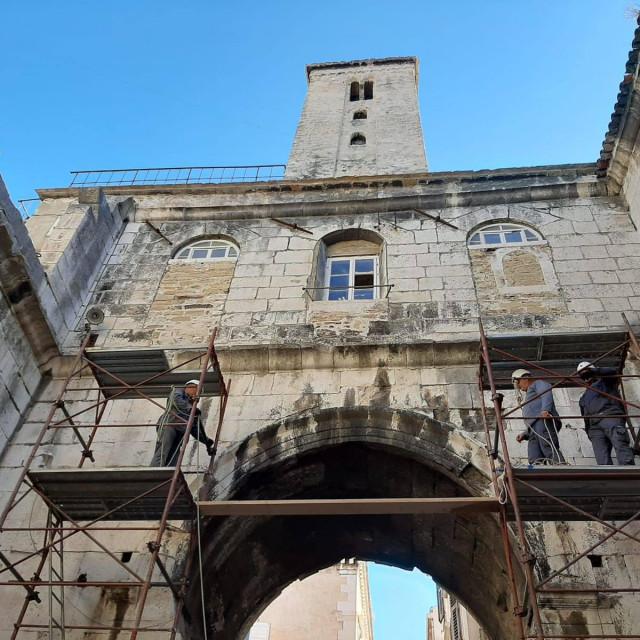 Konzervatorska obnova i zaštita sklopa Željeznih vrata<br />