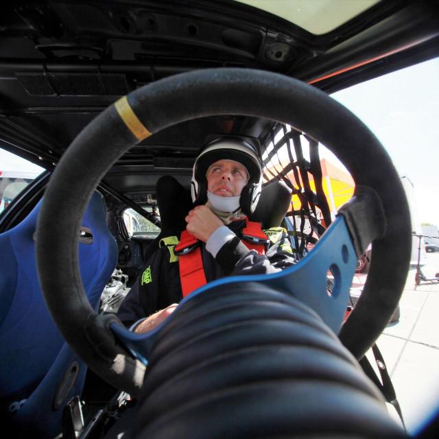 Đivo Franić, automobilist Dubrovnik Racinga foto: Tonči Vlašić