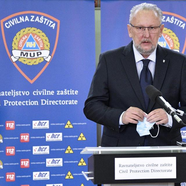 Ministar Božinović: Ukupni kapacitet izvabolničkog smještaja je 2360 kreveta koji se mogu staviti u funkciju u roku 48 sati
