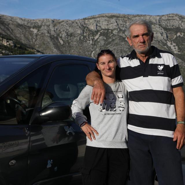 Rasim Markišić i 37 godina mlađa mu nevjenčana supruga Božena