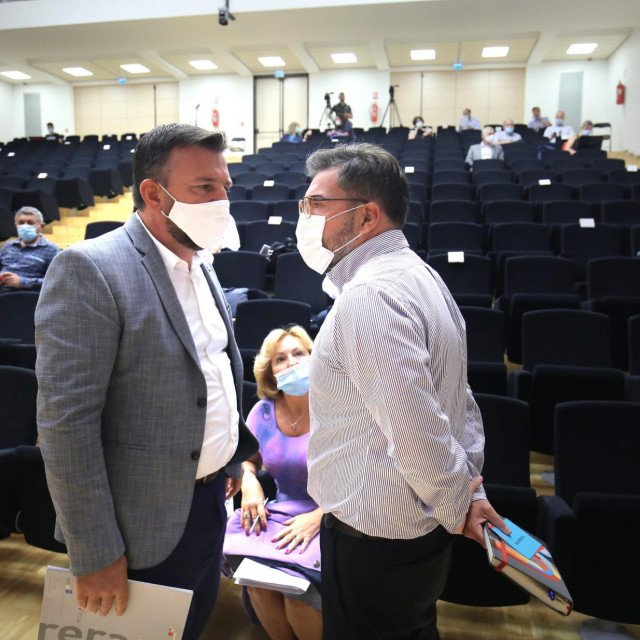 Petar Škorić i Domagoj Maroević