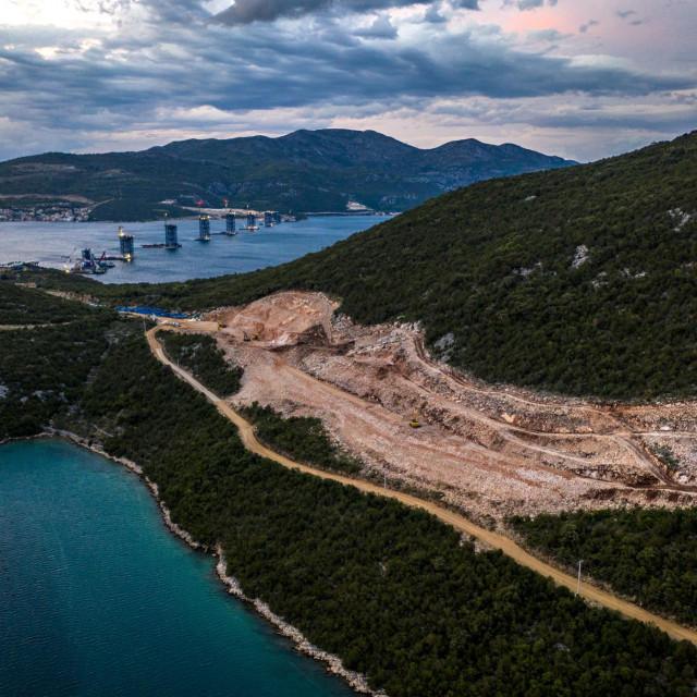 Izgradnja Pelješkog mosta i pristupnih cesta mostu<br />
