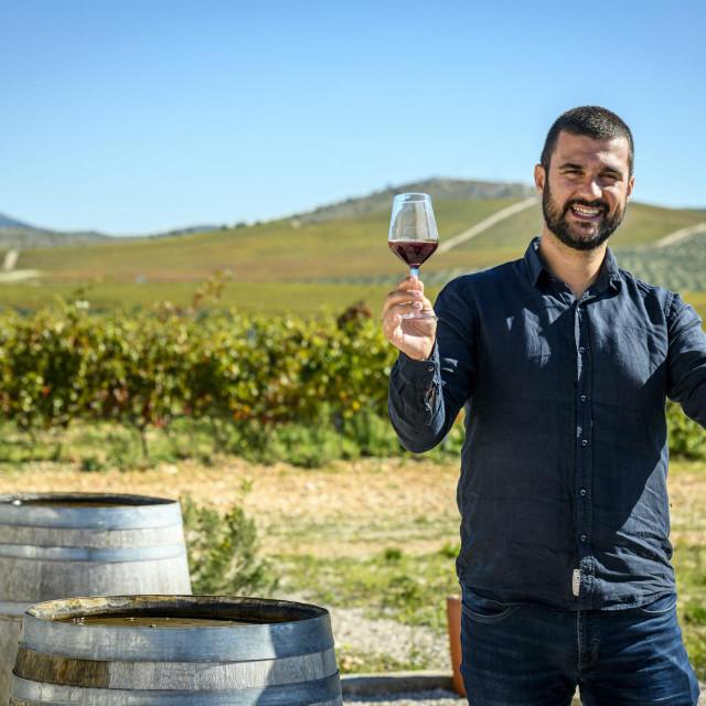 <br /> Juraj Sladić enolog i upravitelj vinarije Testament.<br />