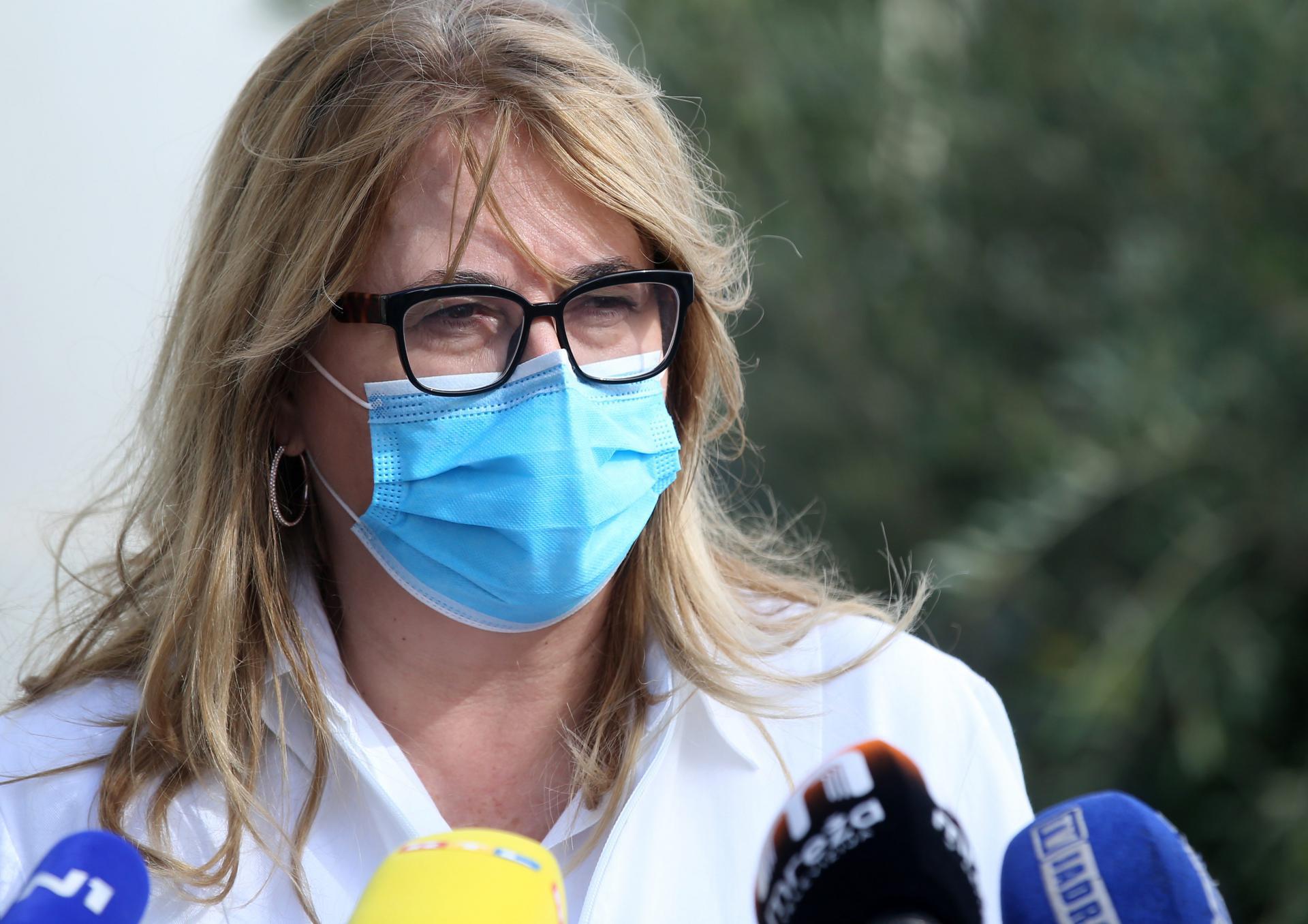 Željka Karin: Situacija je zabrinjavajuća, brojke rastu... U pomoć nam u Split stižu mladi liječnici koji će raditi pod nadzorom