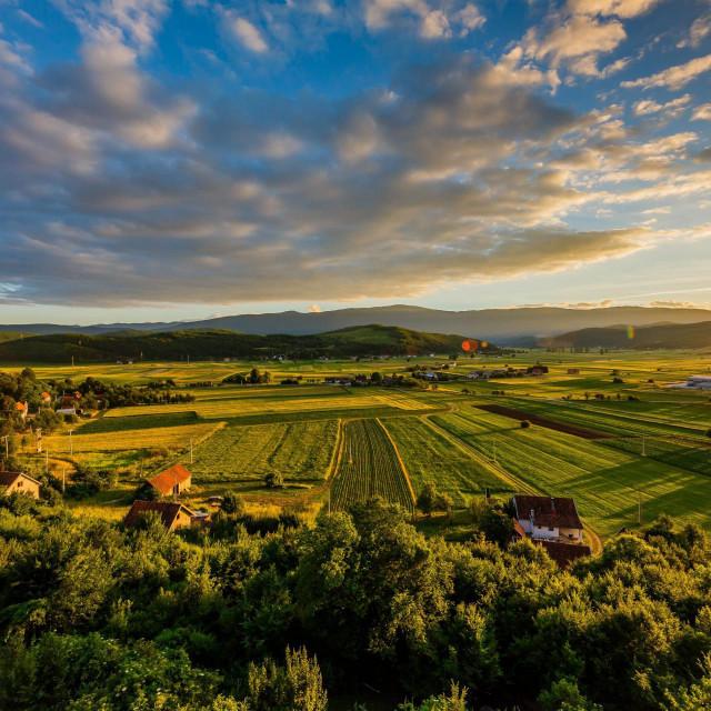 Panorama Like u kasno proljeće