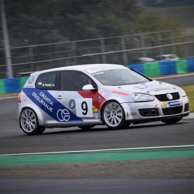 Maro Franić (Dubrovnik Racing) na Hungaroringu 2020. godine