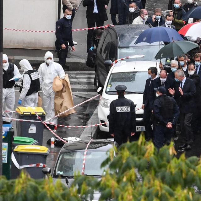 Poprište ekstremističkog napada u Parizu