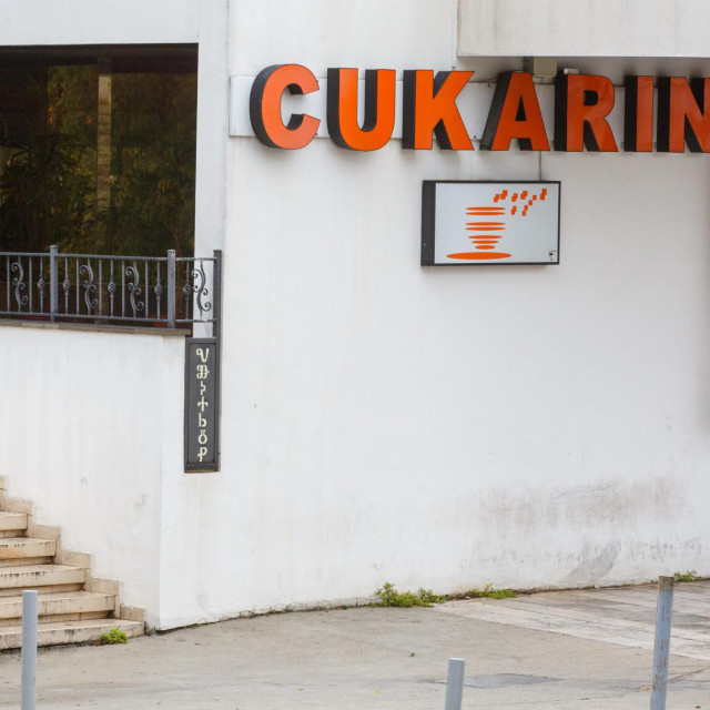 """Zatvorena slastičarnica """"Cukarin"""" u sklopu prodajnog centra Koteks"""