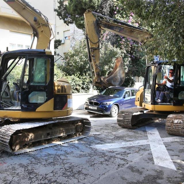 Obnova Gajeve odvijat će se u fazama, ali problemi s dodatnim manjkom mjesta za vozila već su prisutni