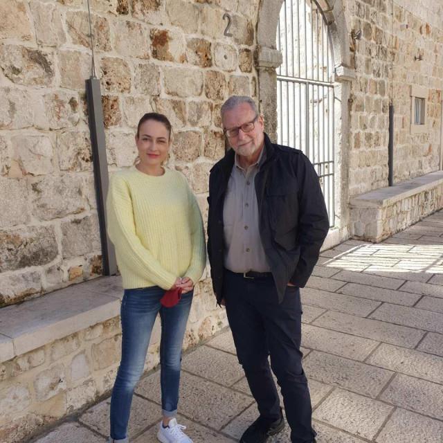 Ana Hrnić s Peterom Greenbergom