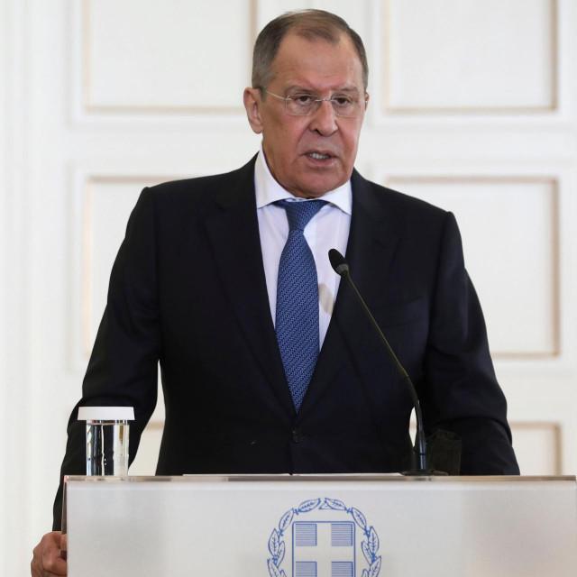Ruski ministar vanjskih poslova bio je prekjučer u Grčkoj, a u sklopu turneje jugoistokom Europe obilazi još i Sarajevo i Beograd
