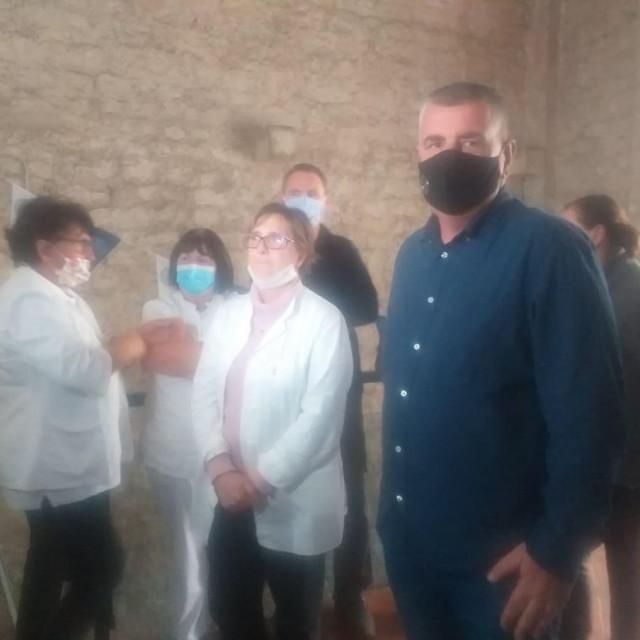 Miro Bulj podržao štrajk u studentskoj menzi.