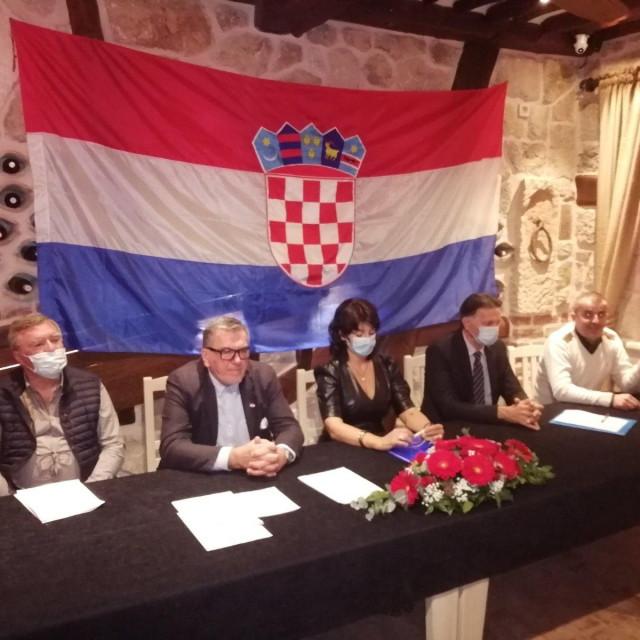 Osnovan ogranak Domovinskog pokreta za grad Dubrovnik