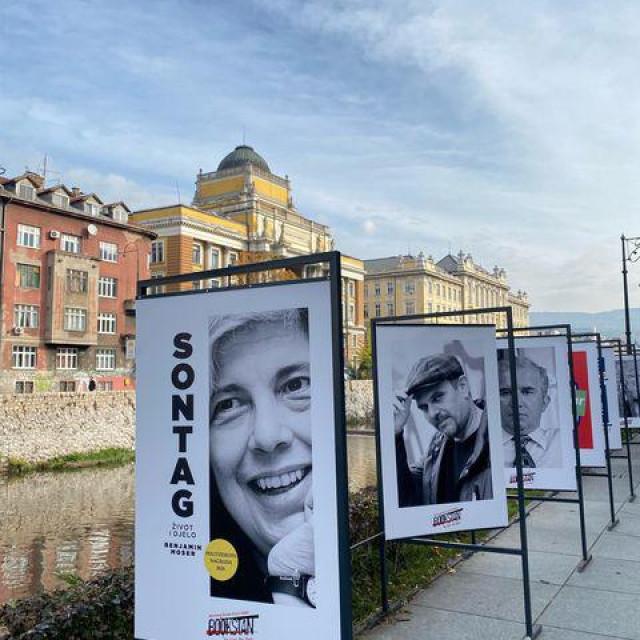 Promocija biografije Susan Sontag, autorice knjige 'Bolest kao metafora, jedan je od važnijih događaja sarajevskoga festivala<br />
