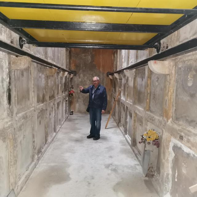 Naš novinar u katakombama